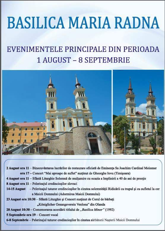 Evenimente 1 August - 8 Septembrie