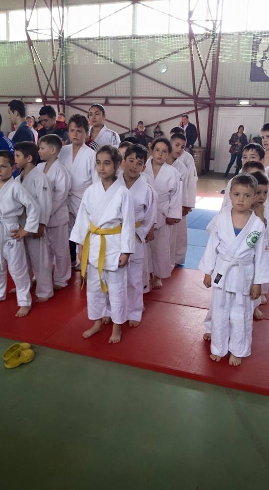 Micii judoka pregatiti de competitie