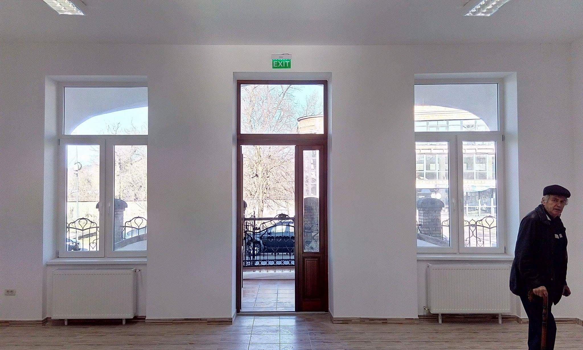 Sala principala din interiorul CNIPT LIPOVA