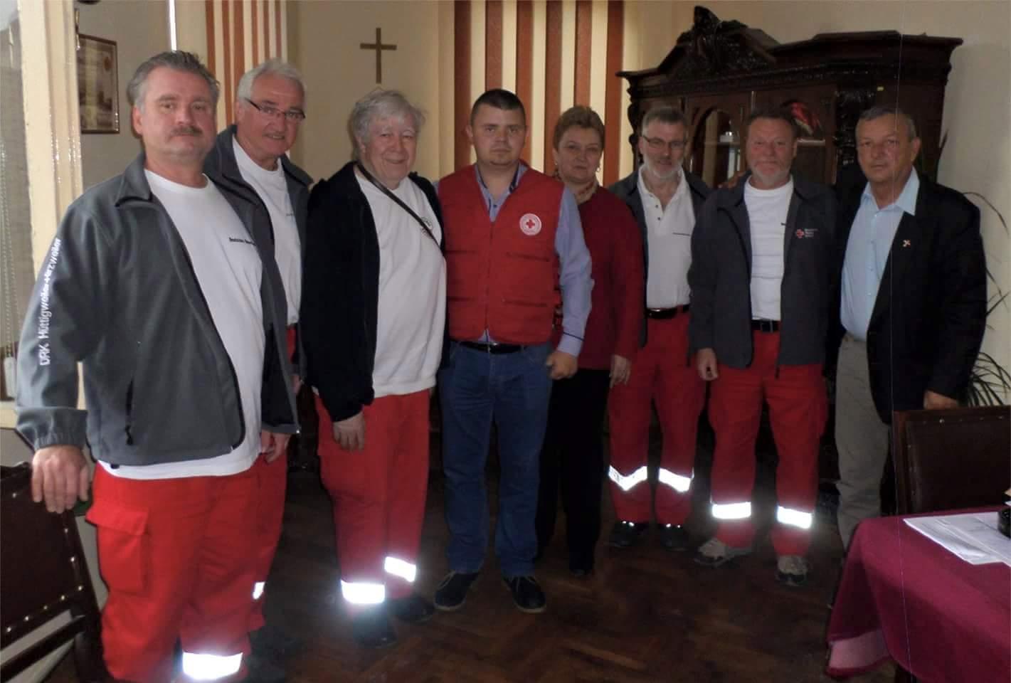Delegatia germana a fost primita la Primaria Orasului Lipova