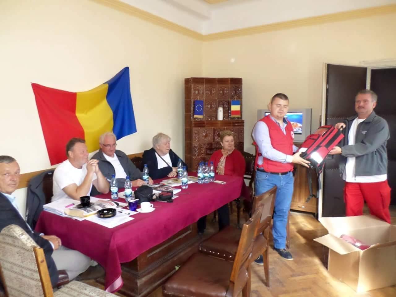 Echipamente medicale si alte materiale primite din partea prietenilor din Germania