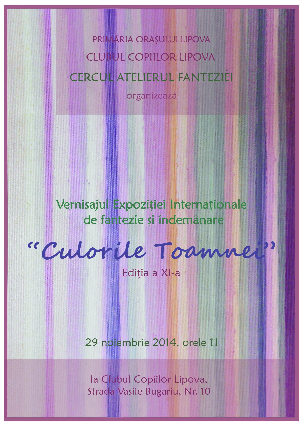 CULORILE TOAMNEI 2014 AFIS NOIEMBRIE 2014