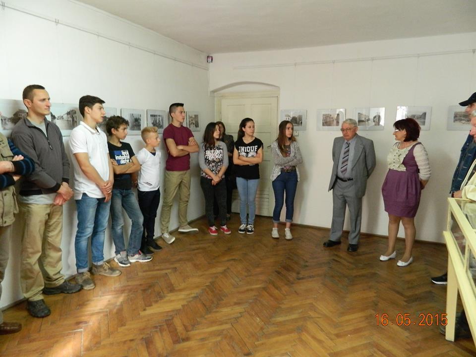 Vernisaj expozitie Lipova sub ape - Noaptea muzeelor