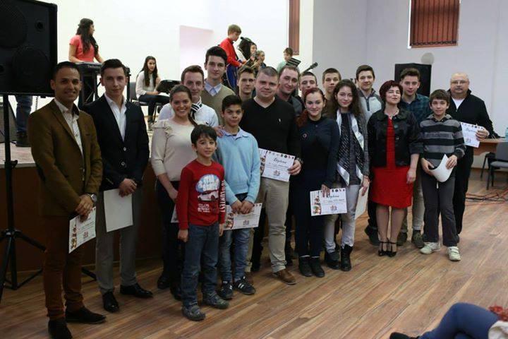 Voluntarii implicati in toate actiunile desfasurate in anul 2014, au fost premiati cu diplome