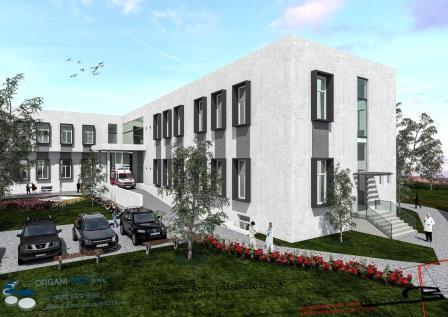 Noul spital va fi mult mai mare, va cuprinde mai multe sectii pe diferite ramuri ale medicinei
