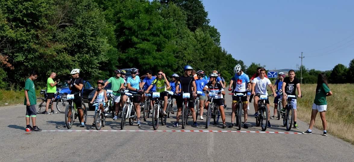 Prima ediţie a concursului de ciclism ROCCA  MTB  LIPOVA 2015, s-a bucurat de un real succes
