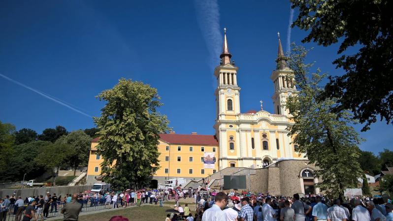 "Sarbatoarea Adormirii Maicii Domnului  la Manastirea ""Maria Radna"" din Lipova"