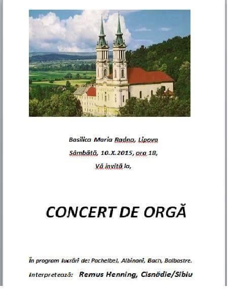 Basilica Maria Radna, Lipova