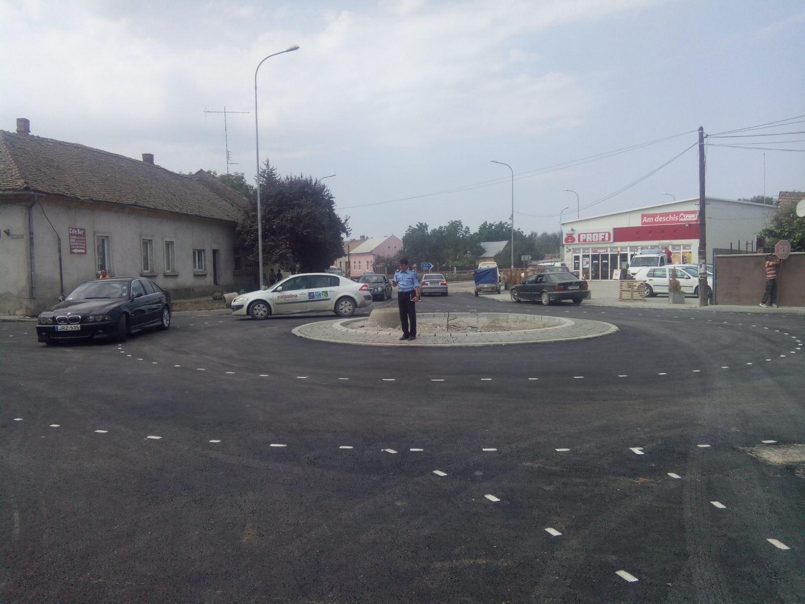 Proiectele derulate în oraşul Lipova au ajuns la un stadiu foarte avansat. Un nou peisaj prinde contur pe străzile oraşului