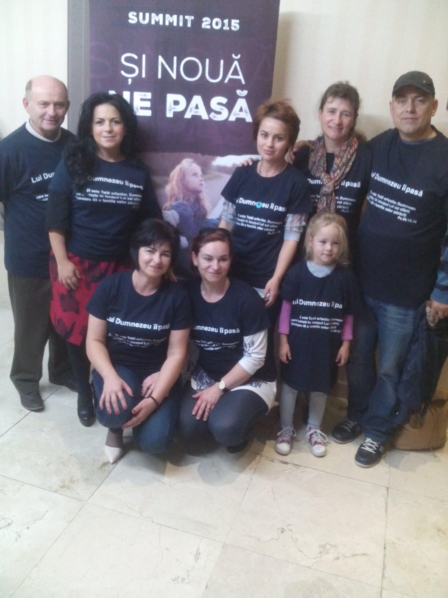 Ajutor pentru copiii orfani din partea echipei AMC Betleem Lipova şi a familiilor din oraşul Lipova