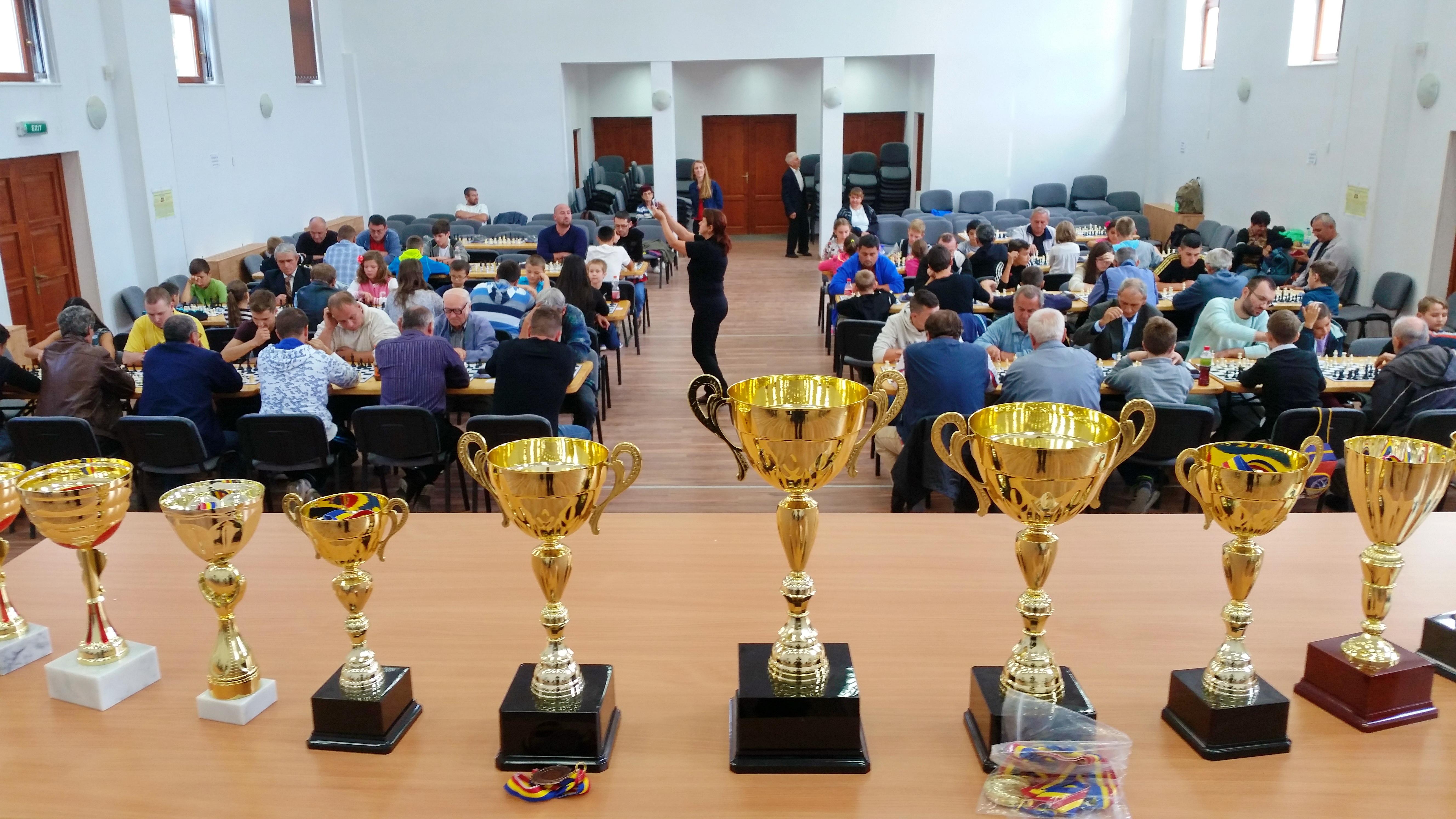 Cupe campionatul de sah de la Lipova, septembrie 2015