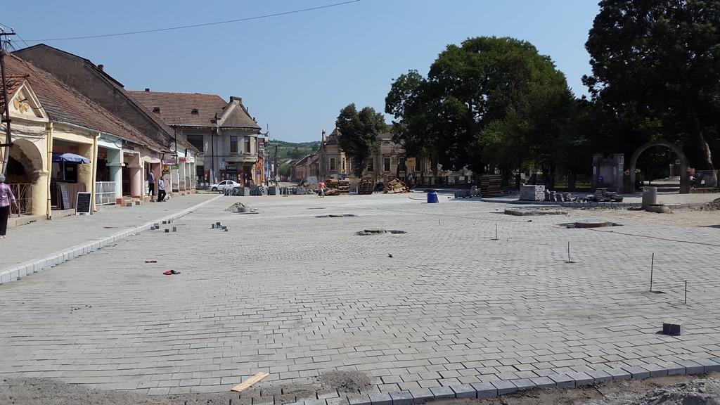 O nou imagine pentru zona Bazarului turcesc care a fost   pavata