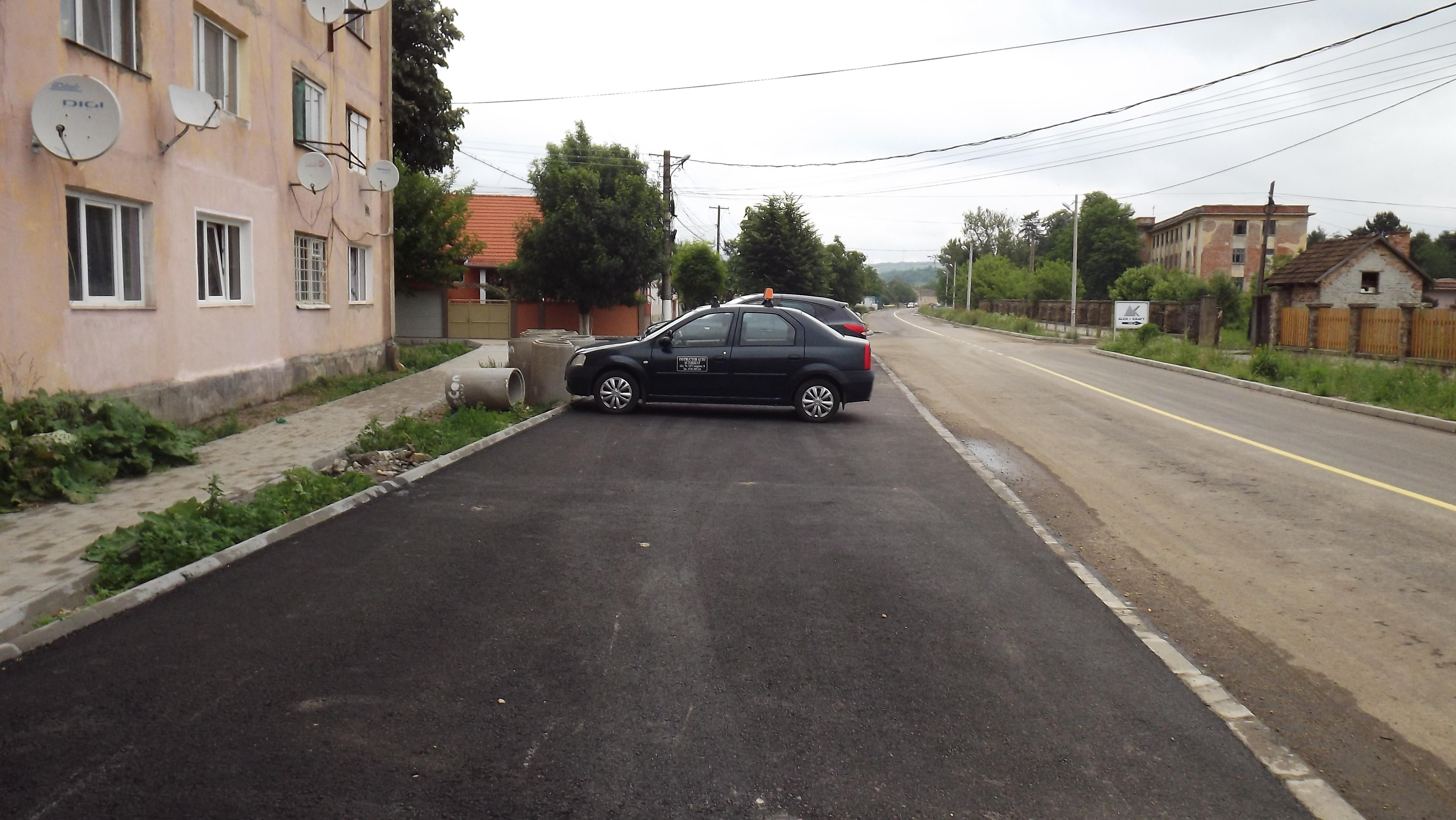 Strada Iancu Jianu cu parcari