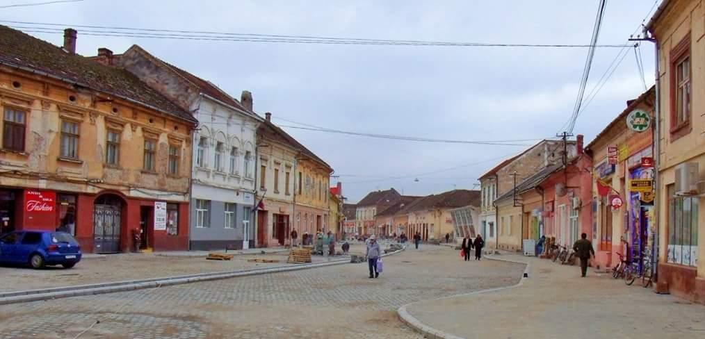 Ultimele retusuri sunt realizate pe centrul orasului Lipova