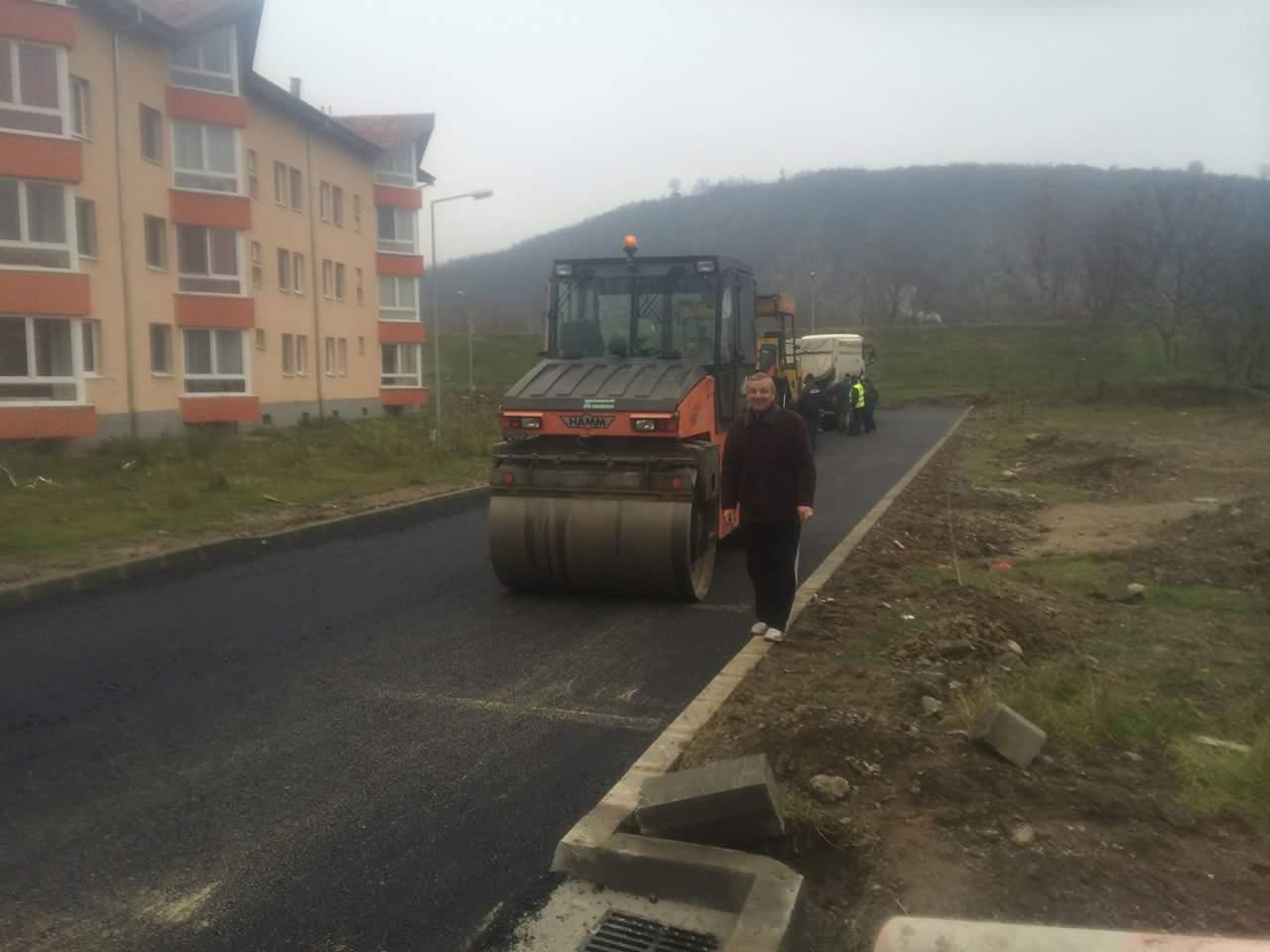 Strada Petru Maior a fost asfaltata