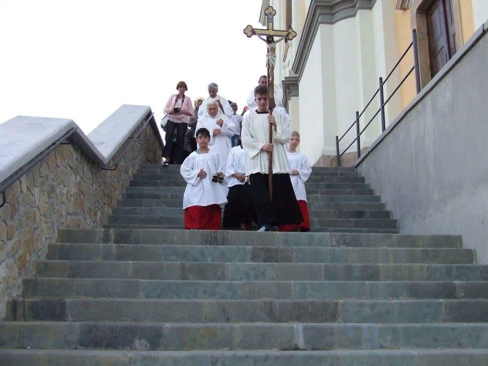 """Sărbătoarea Adormirii Maicii Domnului  la Basilica """"Maria Radna""""  din Lipova"""