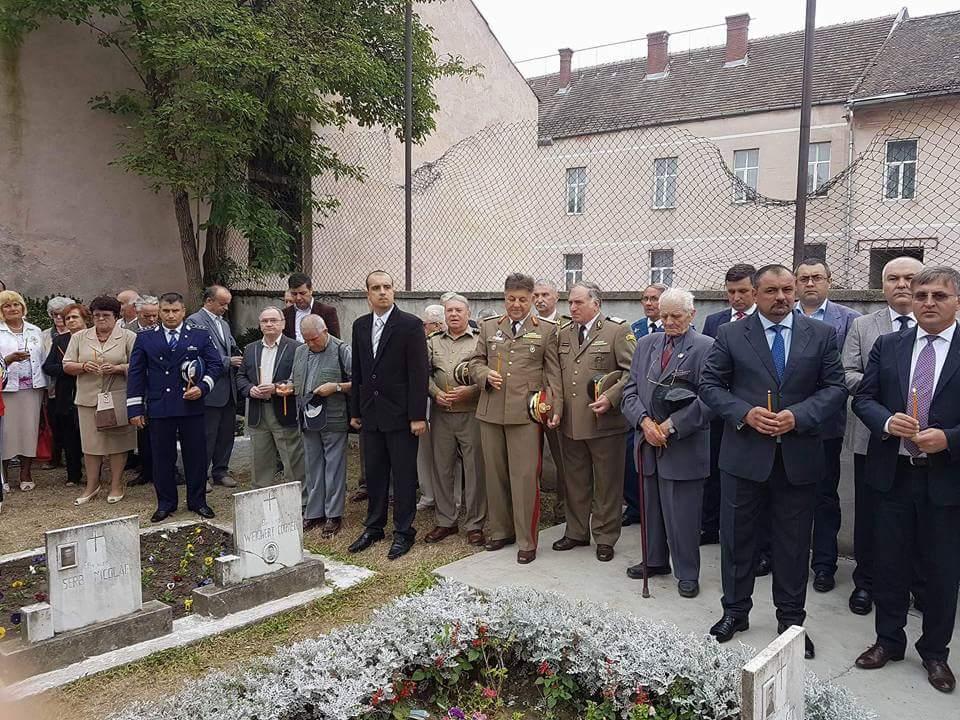 Manifestări comemorative pentru Eroii Detaşamentului Păuliş, cu ocazia împlinirii a 72 de ani de la luptele din 1944