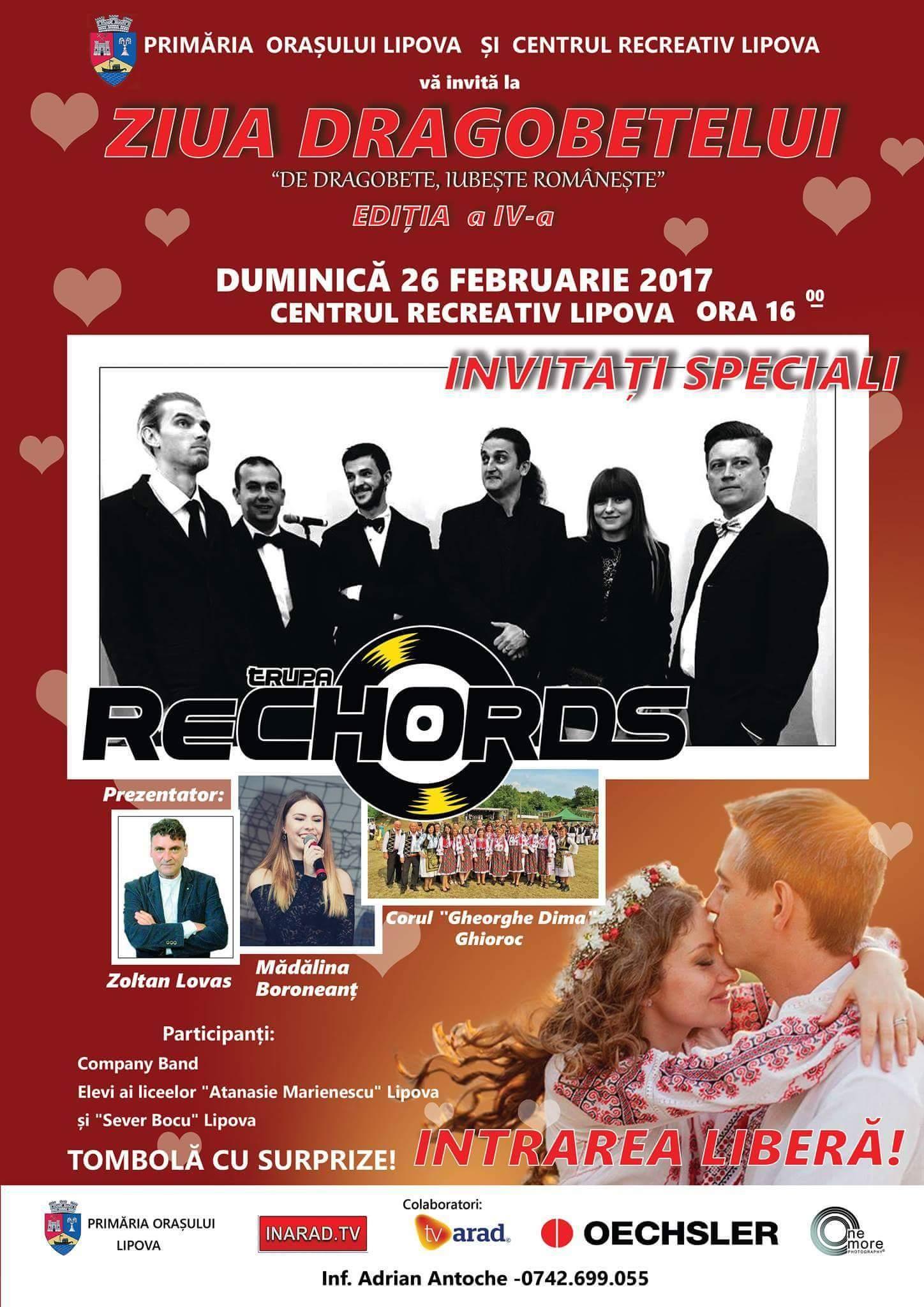 « ZIUA  DRAGOBETELUI – De Dragobete iubeşte româneşte », (Ediţia 4, 2017)