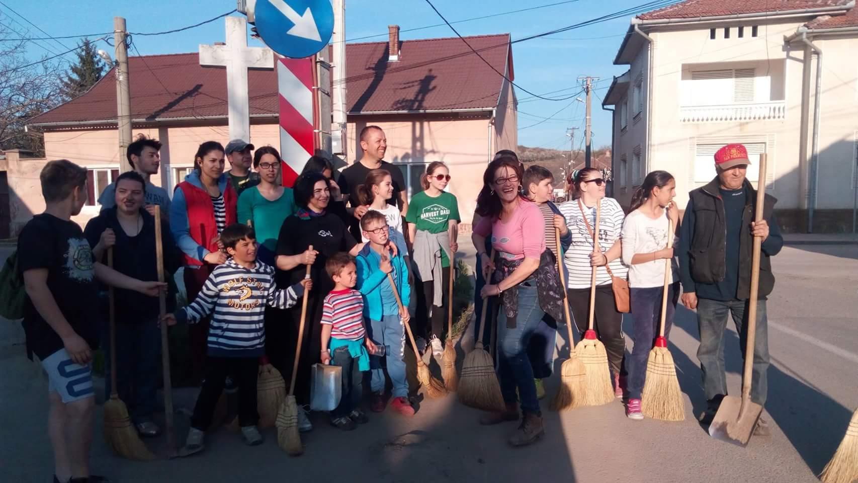 « LIPOVA  CURATĂ » - acţiune  de ecologizare şi igienizare  pentru oraşul Lipova