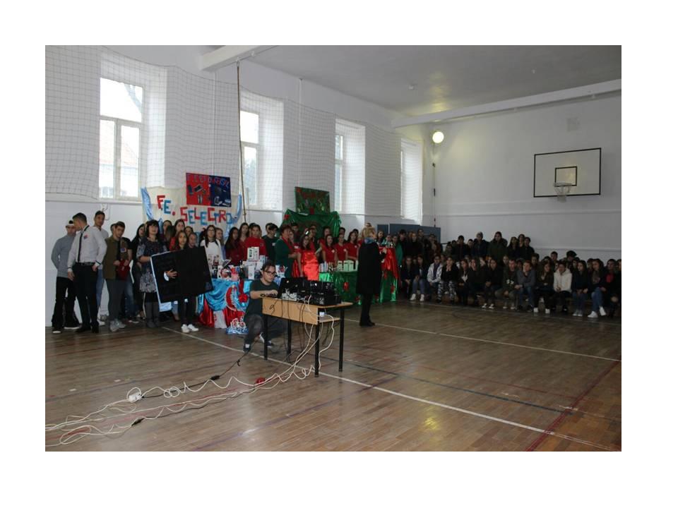 """Inaugurarea firmelor de exercițiu la Liceul """"Sever Bocu"""" Lipova"""
