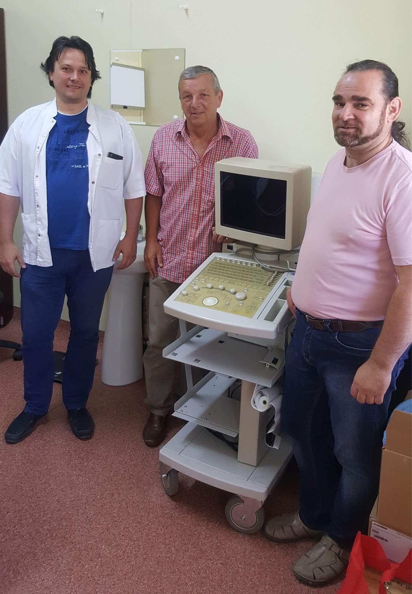 Spitalul Oraşenesc Lipova  beneficiază de aparatură şi echipamente medicale noi,  asigurate prin intermediul Cercului de Prietenie Germano-Român din Saarland