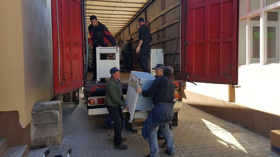 O a doua donaţie de mobilier pentru Spitalul Oraşenesc Lipova a ajuns la secţia TBC, prin intermediul Cercului de prietenie româno-german