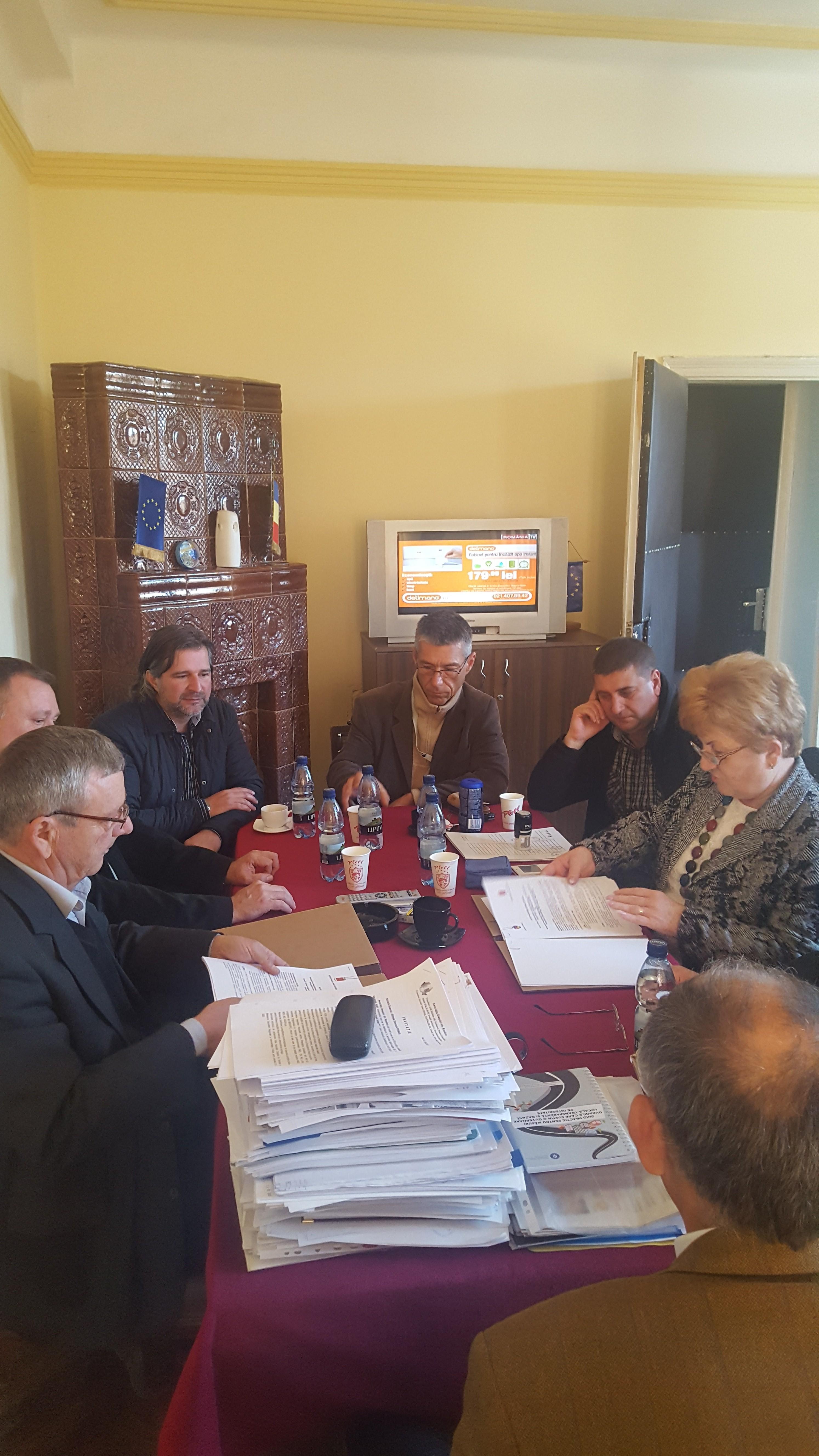 Oraşul Lipova şi Oraşul Chitighaz din Ungaria şi-au strâns mâna  pentru o nouă relaţie de înfrăţire