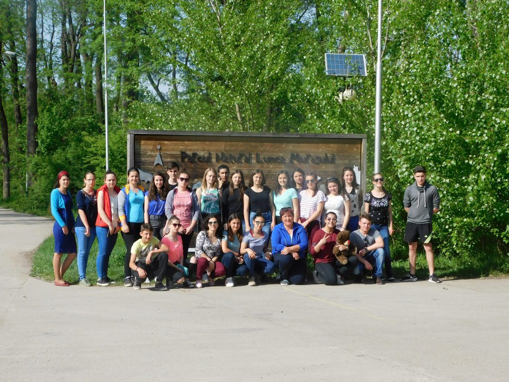 """Elevii Liceului """"Sever Bocu"""" Lipova au desfășurat programul  """"Natura - Casa Noastră"""""""