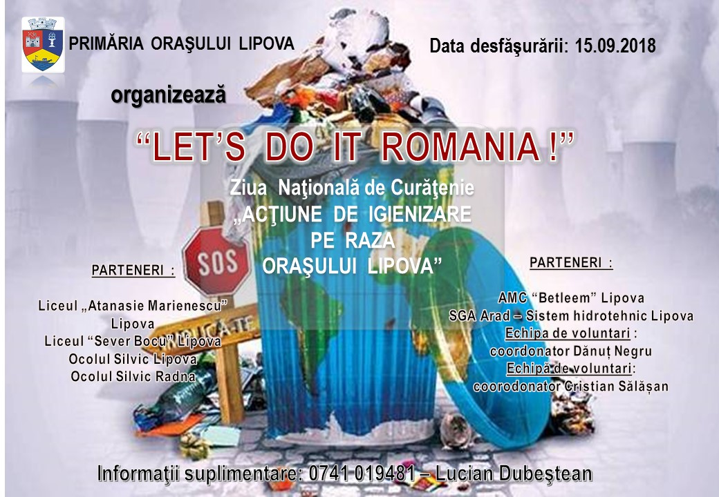 LETS DO IT ROMANIA 2018