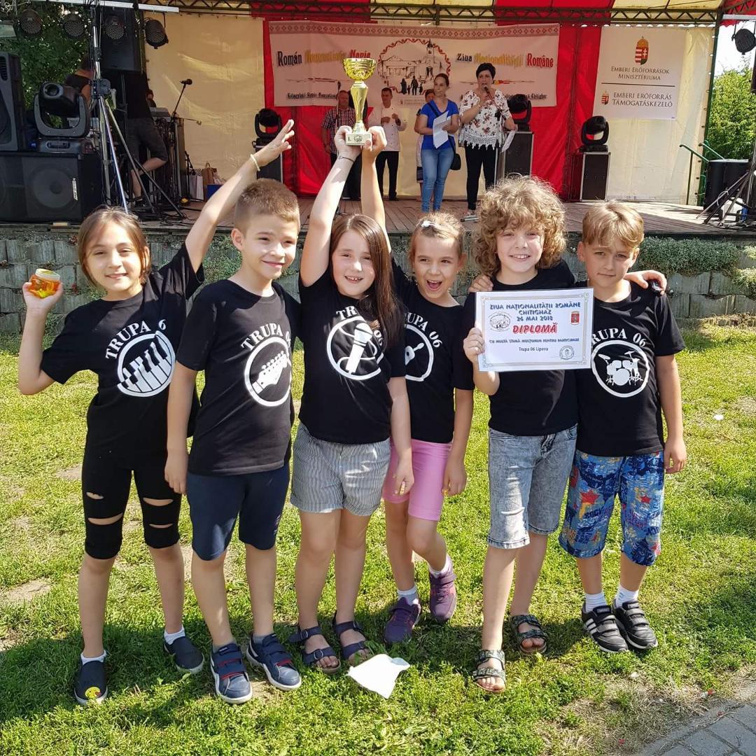 Clubul Copiilor Lipova –  în vizită la Chitighaz, cu ocazia Zilei de  1 Iunie – Ziua Internațională a Copilului