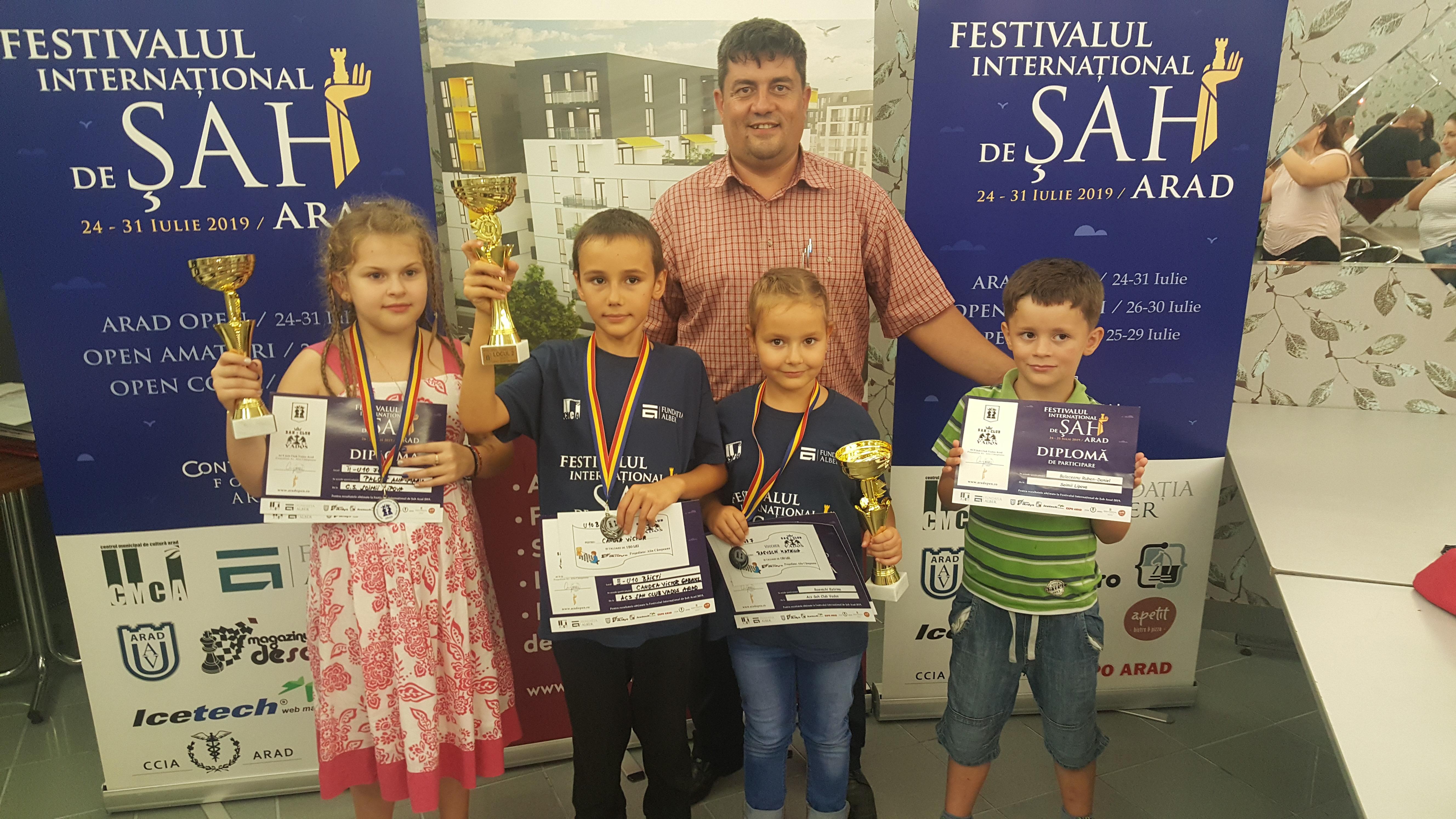 Festivalul Internațional de Șah – Arad 2019