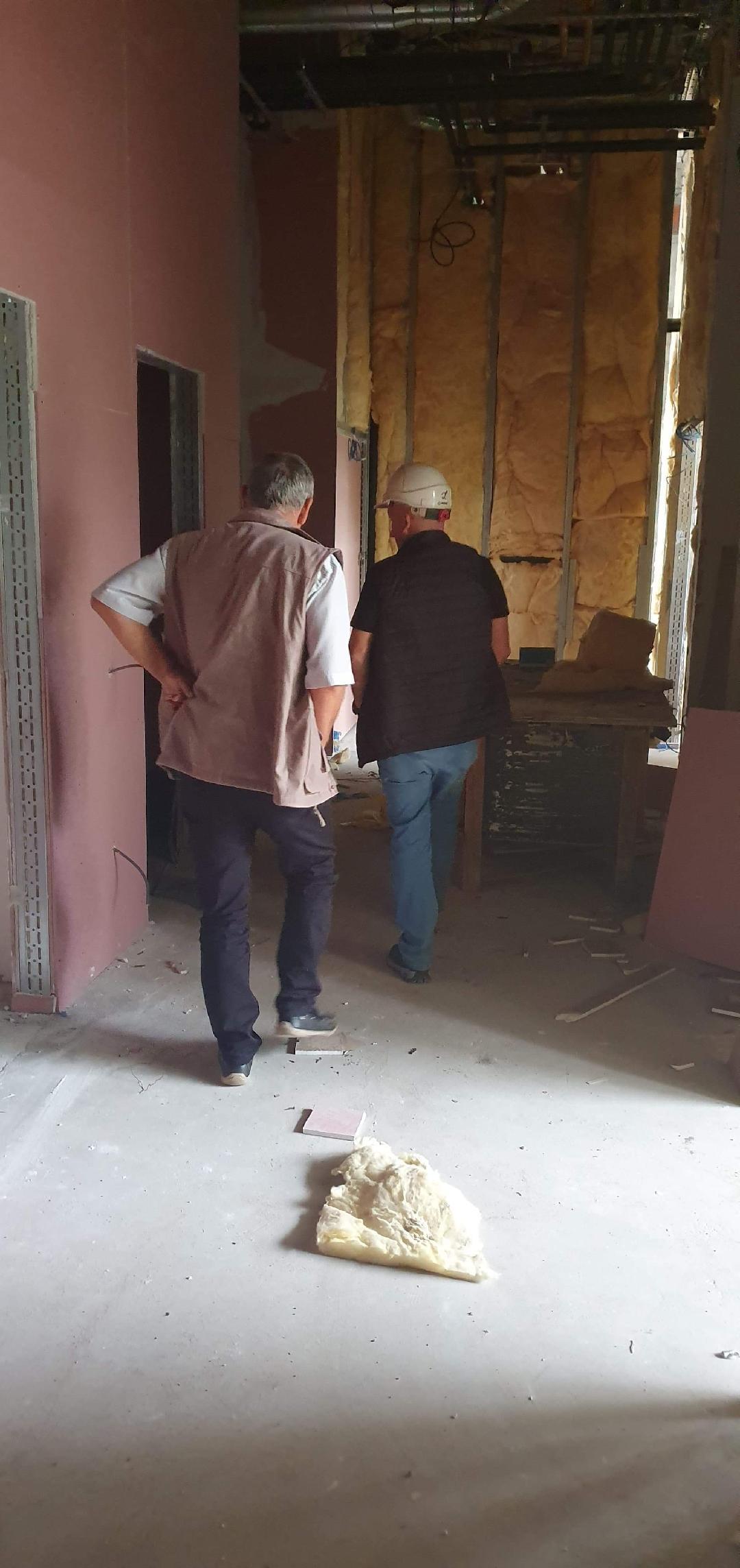 Stadiu foarte avansat al lucrărilor pe șantierul noului Spital Orășenesc Lipova