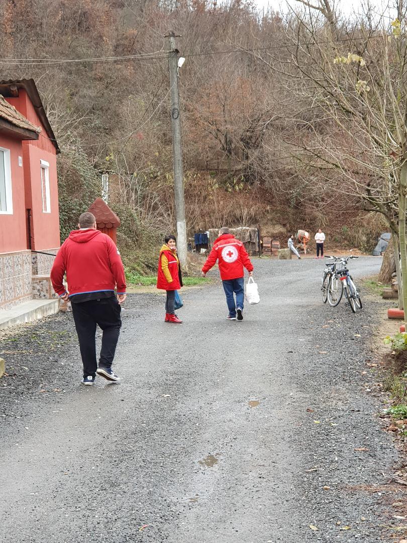 Zeci de kilograme de legume, fructe și alte alimente de bază au fost donate familiilor cu copii în situații mai delicate, în ,, SĂPTĂMÂNA LEGUMELOR ȘI FRUCTELOR LA LIPOVA', prin Crucea Roșie Lipova
