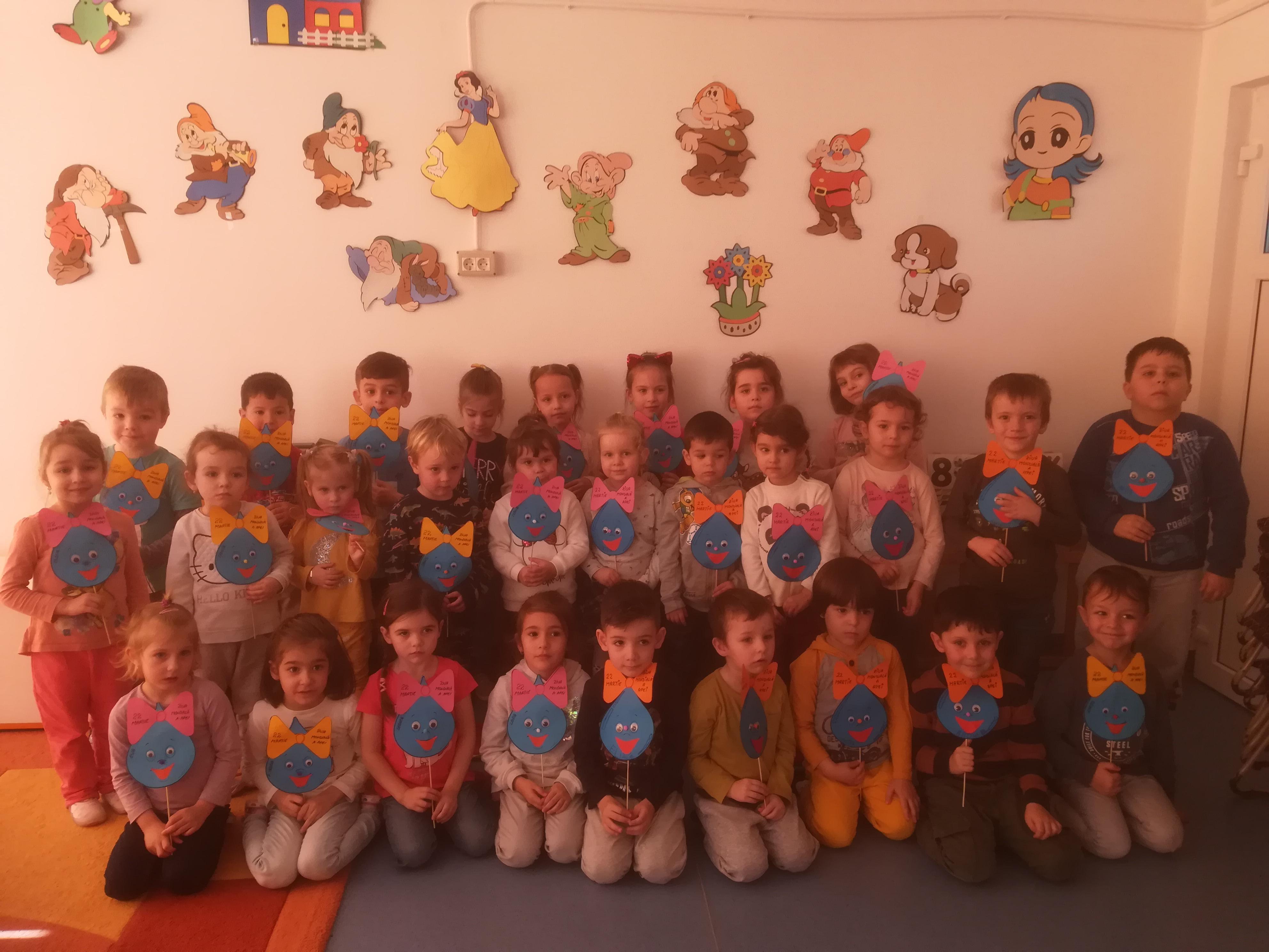 Copiii Grădiniței P.P. LIPOVA au sărbătorit și anul acesta Ziua Mondială a Apei