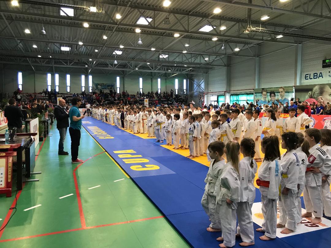 """Cei mai mici dintre judokanii lipovani - locurile 2 și 3 pe podiumul competiției internaționale de judo """"CUPA  GLISSANDO"""""""